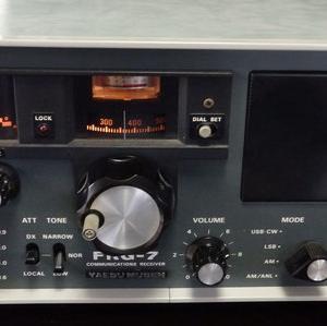通信機メーカー各社が競っていた頃の受信機ヤエスFRG-7