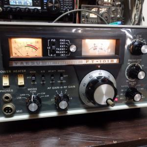 ヤエスのFT-101はトリオのTS-520と人気を二分し、CB愛好家にも愛されたアマチュア無線機