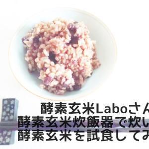 酵素玄米Laboさんの酵素玄米炊飯器で炊いた酵素玄米を試食してきた話
