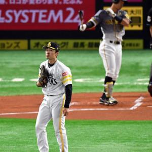 阪神・佐藤輝明 対 ソフトバンク・和田