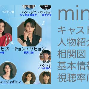 mine(マイン)キャスト・人物紹介、相関図、基本情報、視聴率は?