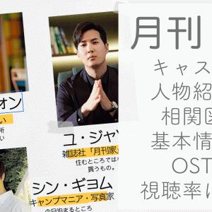 月刊家、あらすじ、キャスト・人物紹介、相関図(日本語)、視聴率、OSTは?