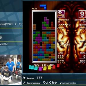 RTA in Japan 2 - Tetris: The Grand Master series(TGM1・2・3)