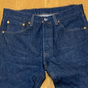 【リーバイス501・Levis501】購入してから220日 二回目の洗濯