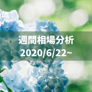 リスタート!崩れたリズムを取り戻せ【2020/6/22~相場分析】