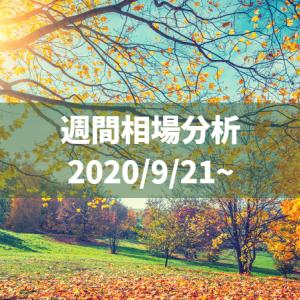 ホトトギス鳴くまで待たなきゃ俺が泣く【2020/09/21〜相場分析】