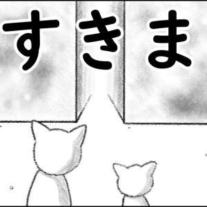 【猫漫画】すきま ①