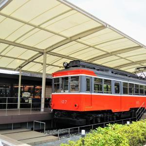 小田原で電車が見える『えれんなごっそCAFE107』体験談!箱根登山鉄道の引退車両も【神奈川】