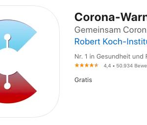 ドイツ在住者はコロナアプリをダウンロードしてください。