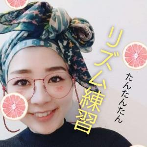 リズム練習 3連符 ライブ配信2日目〜 ボイストレーナー 配信ネタ