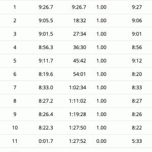 10km走る 3日目