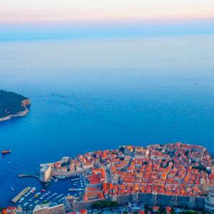 【クロアチア】スルジ山からドブロブニクの絶景を見渡すーケーブルカーでの行き方