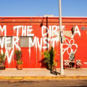 【ロサンゼルス】メルローズアベニューのウォールアートマップーLA散歩