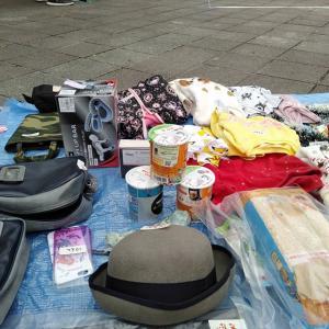 【北区】赤羽公園で子供とフリーマーケットに出店しました!