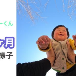 ダウン症おーくん 1歳1ヶ月の様子