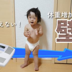 """1歳から体重が増えない? 体重増加には""""壁""""がある!"""