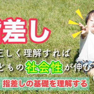 """""""指差し""""を正しく理解すれば子どもの社会性は伸びる!【前編:指差しの基礎を理解する】"""