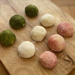 ひな祭り【3色スノーボールクッキー】