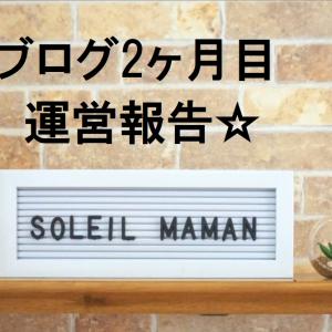 ブログ2ケ月め運営報告。今月の収入は○○○円