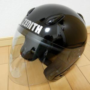 ジェットヘルメット(YAMAHAゼニスYJ-5) 内装交換