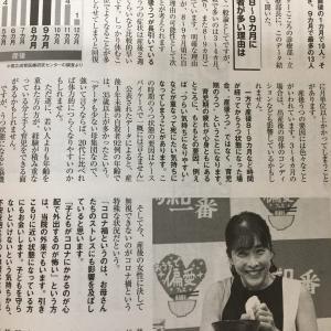 竹内結子さんの産後うつの記事
