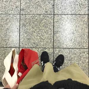 11/17(火)・スカートをはいて