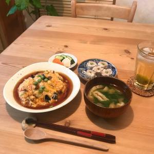 6/16(水)・カニカマで天津飯
