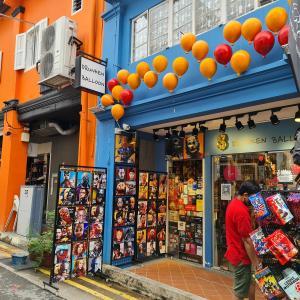 シンガポールのカラフル・ストリート Haji Lane
