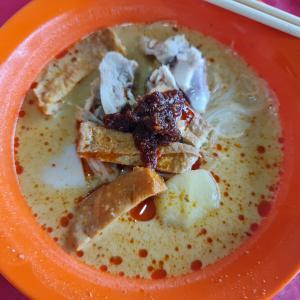 朝めし~生記珈哩鶏米粉麺 Sheng Kee Curry Chicken Noodle