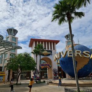 セントーサ島~Universal Studio Singapore~Siloso Beach