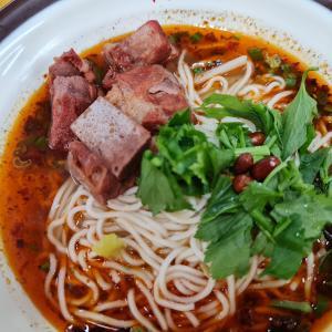 朝めし~紅焼排骨麺 @Sichuan Delicacies 四川名小吃