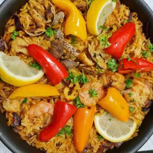 自炊~絶品カラフルパエリア Paella