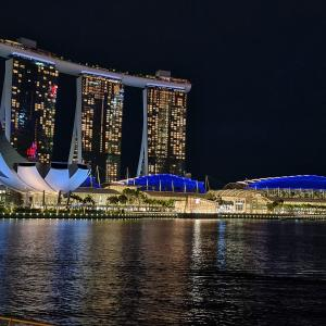 Night view~マリーナベイ Marinabay