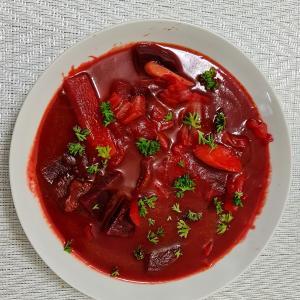 自炊~世界3大スープ! ボルシチBorsch