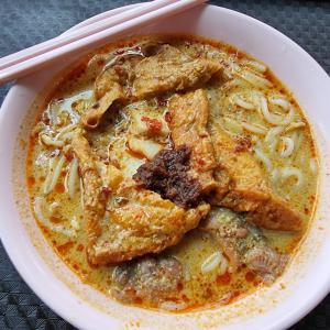 やさしさ沁みるミシュランラクサ@Heng Heng Cooked Food