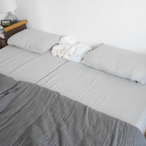 【寝室】布団の冬支度