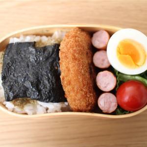 惣菜コロッケとウインナー弁当