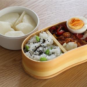 枝豆塩昆布混ぜご飯弁当