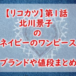 【リコカツ】第1話北川景子のネイビーのワンピースのブランドは?値段や通販の購入方法を紹介