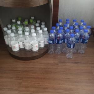 上海隔離ホテル7日目 ペットボトル事情