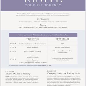 R+F 8月からの新プログラム情報
