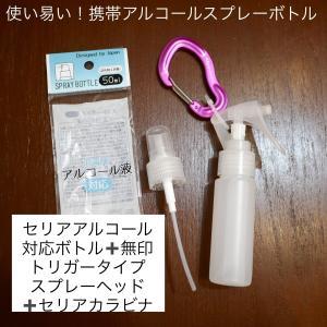 携帯用のアルコール除菌スプレーはトリガー式が便利!