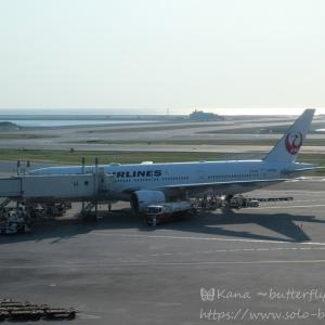 ◆フライトレポート202103◆JAL 普通席◆那覇→伊丹◆3か月半の沖縄長期滞在から大阪に帰ってきました◆