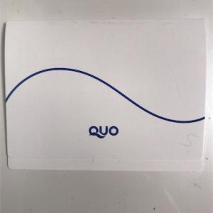 QUOカードの使い道を考えてみました。