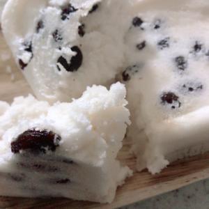 小腹が空いたら簡単5分の米粉のレシピ ふわもちレーズン蒸しパン