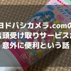 ヨドバシカメラ.comの店頭受け取りがサービスが意外に便利という話