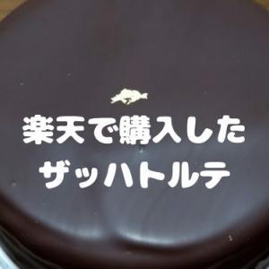 【購入品】楽天で購入した濃厚ザッハトルテ