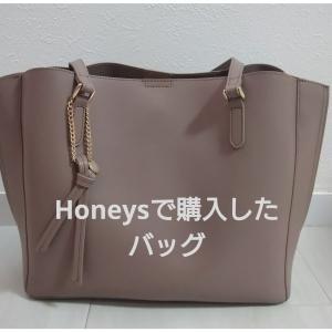 【購入品】Honeysのバッグとランバンのマリーミー