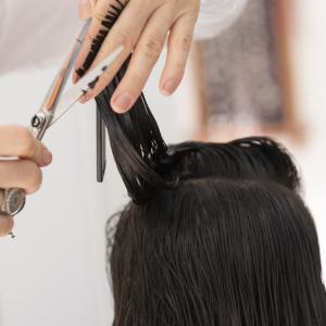 美容室~髪質改善カラー2回目~