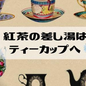 紅茶の差し湯は〇〇〇に入れよう!【英国式】正しい使い方をご紹介!